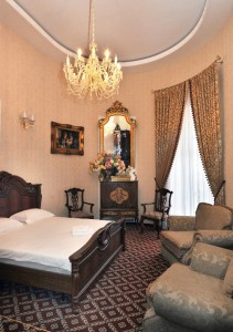 Люкс  с балконом в гостинице