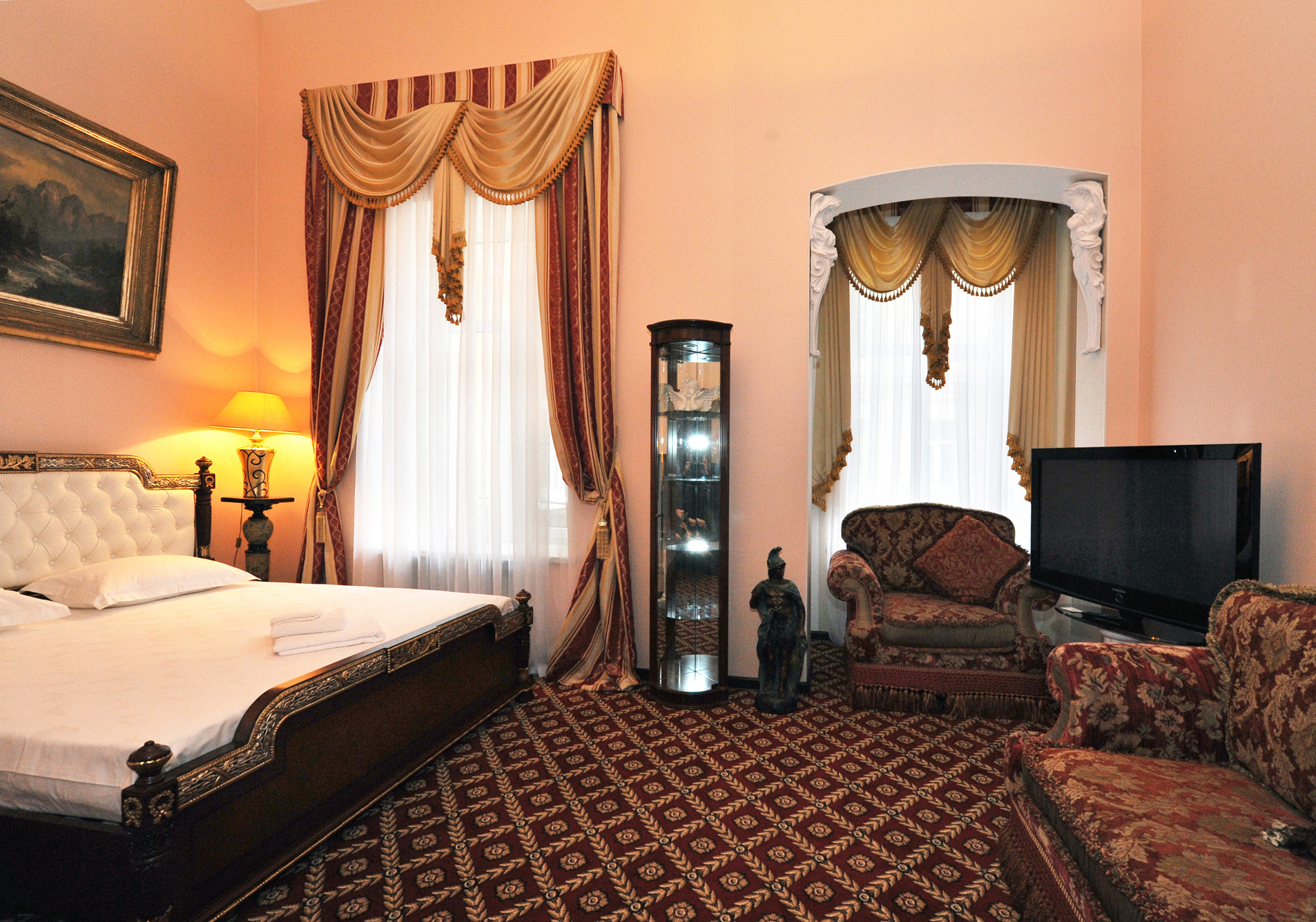 """гостиница в Одессе """"Queen Valery"""", номер семейный"""