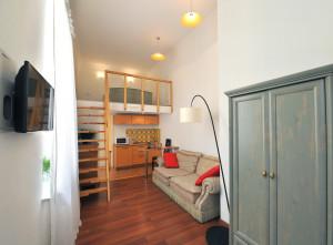 2-х комнатные апартаменты с балконом